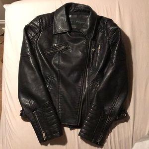 "Zara ""leather"" jacket"